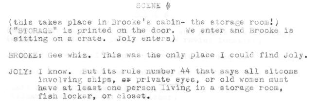 Rule 44 Storage Room